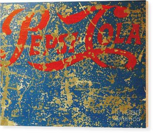 Pepsi Wood Print