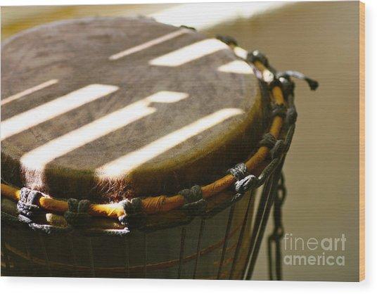Percussion Light Wood Print