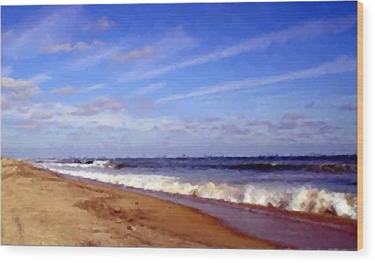 Perfect Hatteras  Wood Print