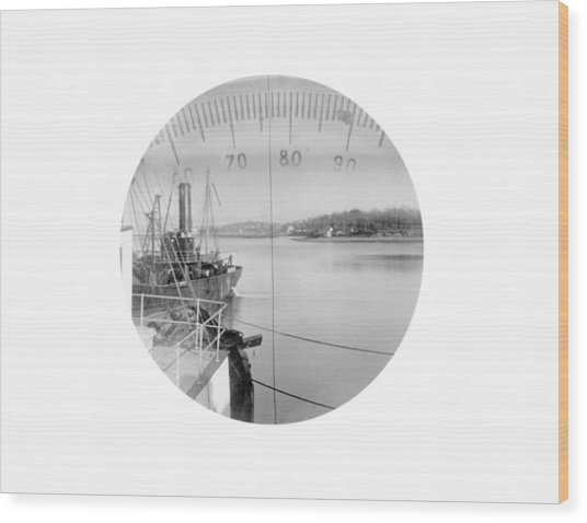 Periscope View, Early 20th Century Wood Print by Science Photo Library