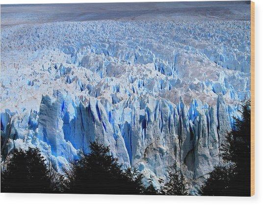 Perito Moreno Glacier Wood Print by Arie Arik Chen
