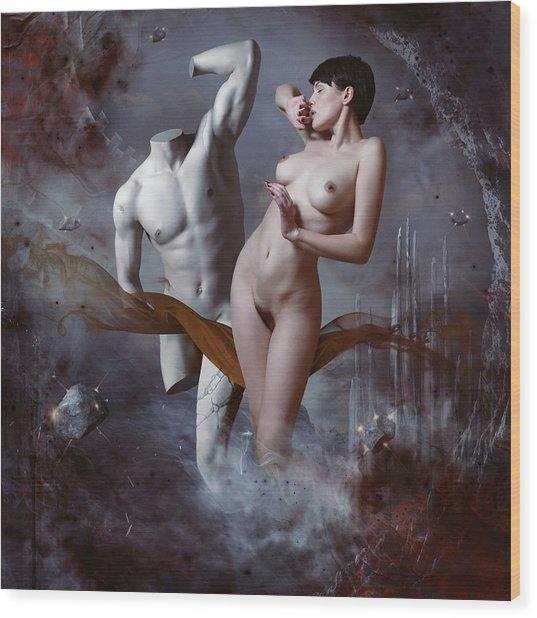 Perseus And Andromeda Wood Print