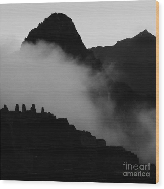 Peru-fineart-14 Wood Print by Javier Ferrando