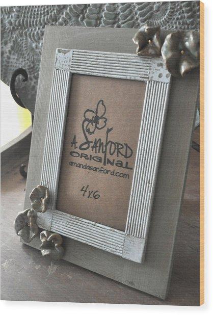Petal To The Metal Wood Print by Amanda  Sanford