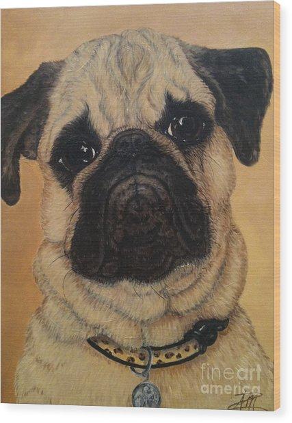Petey Wood Print