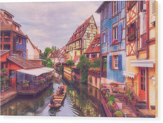Petite Venise I  Wood Print