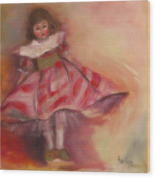 Petite Cisette Wood Print by Susan Hanlon