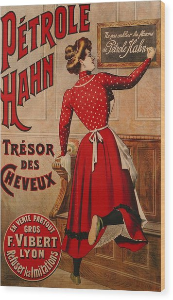 Petrole Hahn Wood Print