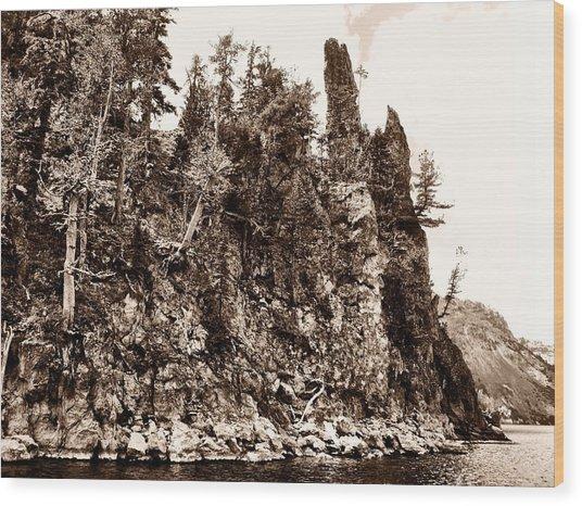 Phantom Shipwreck Wood Print