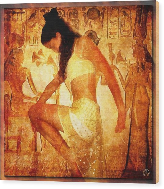 Pharaohs Daughter Wood Print by Gun Legler