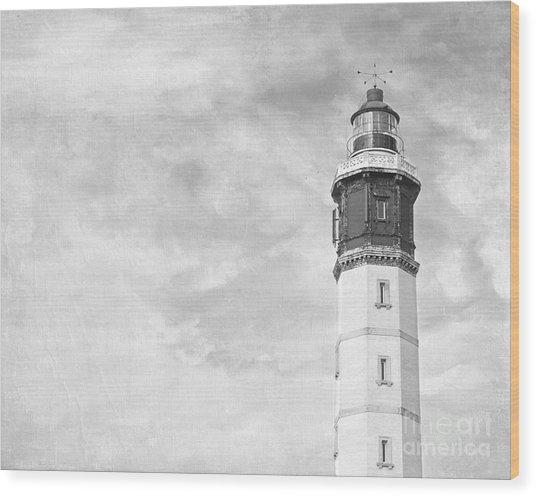 Phare De Calais Wood Print
