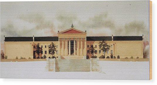 Philadelphia Art Museum Wood Print