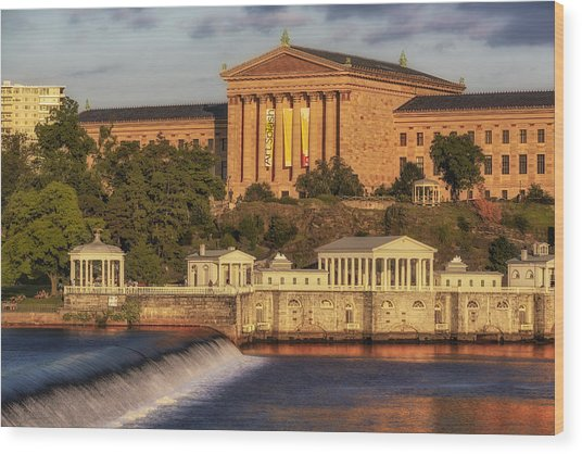 Philadelphia Museum Of Art Wood Print