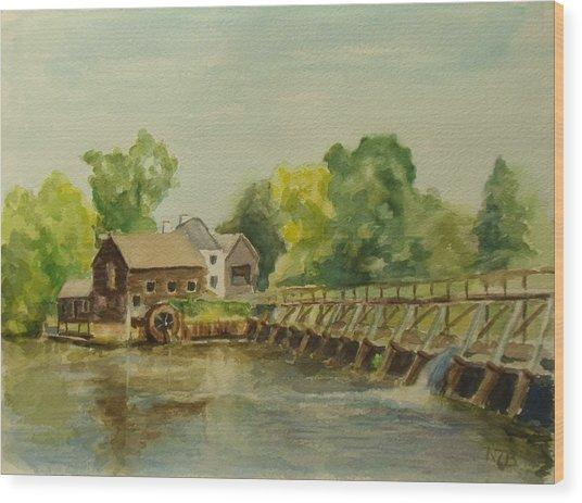 Philipsburg Manor Tarritown Wood Print