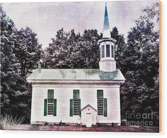Phillipsport Methodist Wood Print