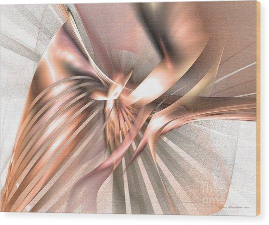 Phoenix Of The Future - Surrealism Wood Print