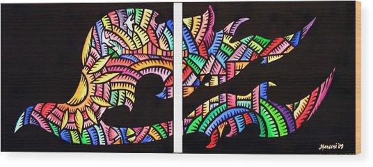 Phoenix Sf Wood Print