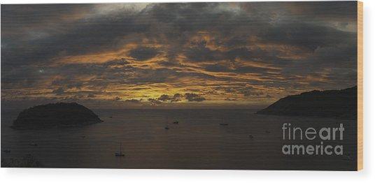 Phuket Sunset Wood Print