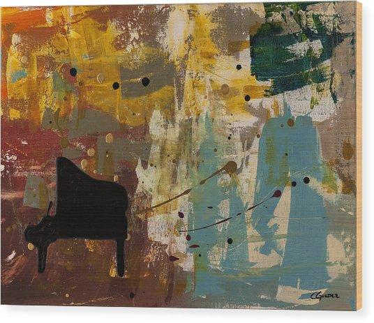 Piano Concerto Wood Print