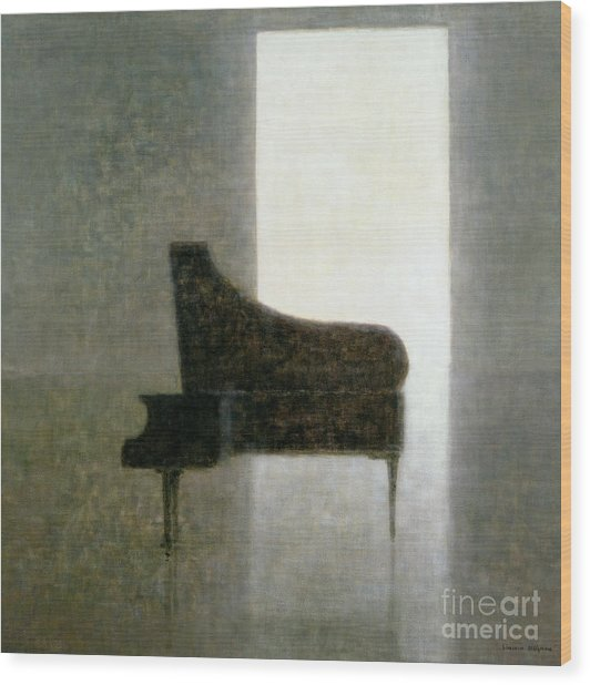 Piano Room 2005 Wood Print