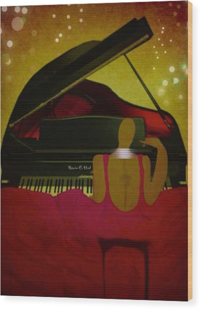 Pianochic Wood Print