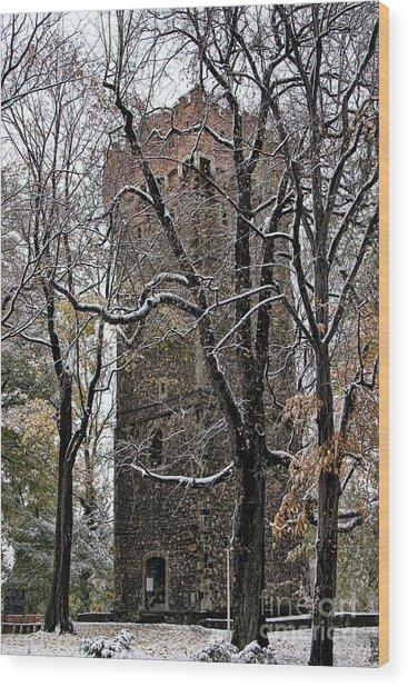 Piastowska Tower In Cieszyn Wood Print