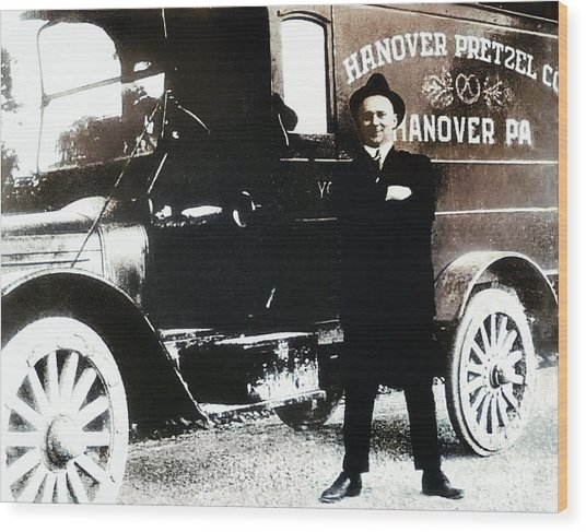 Picture 18 - New - Hanover Pretzel Wood Print