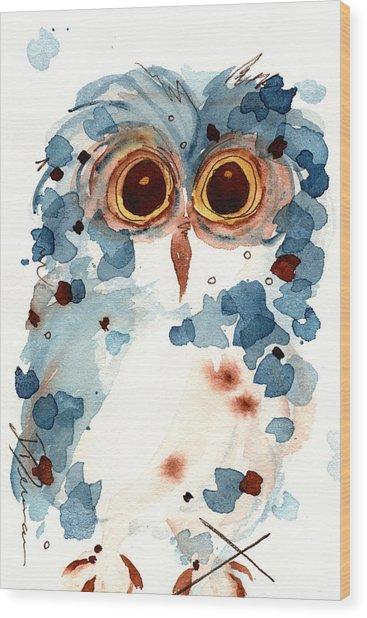 Pier 1 Owl Wood Print