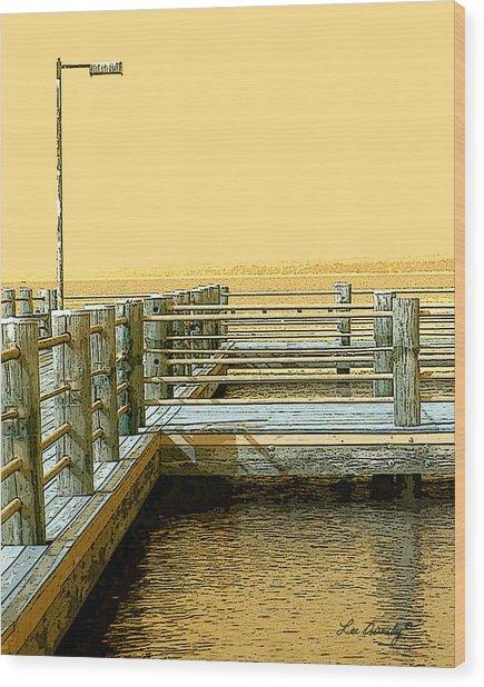 Pier 2  Image A Wood Print