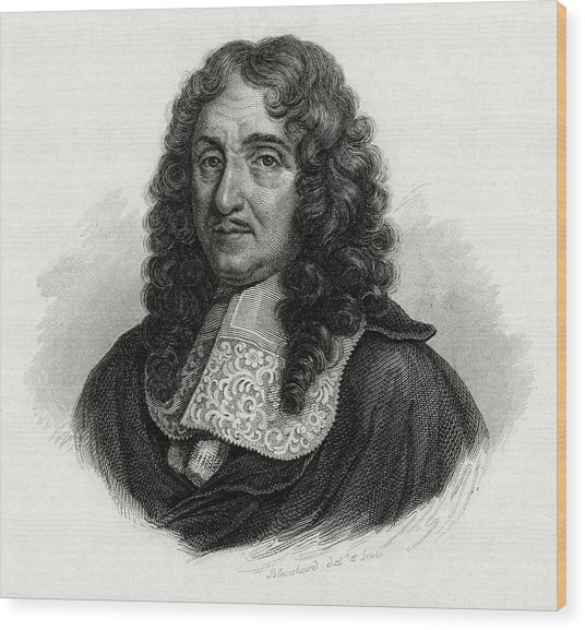 Pierre Paul Riquet  French Civil Wood Print by Mary Evans Picture Library
