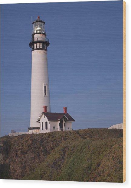 Pigeon Point Lighthouse #2 Wood Print