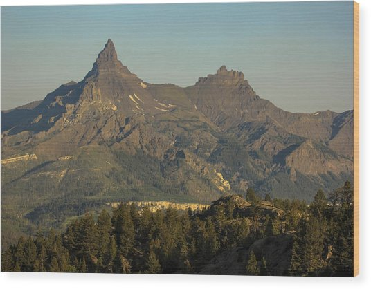Pilot And Index Peaks Wood Print