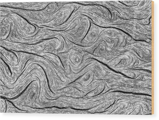 Pine Bark Abstract Wood Print