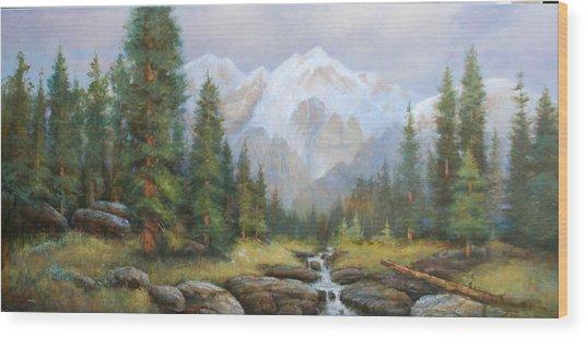 Pine Valley Wood Print