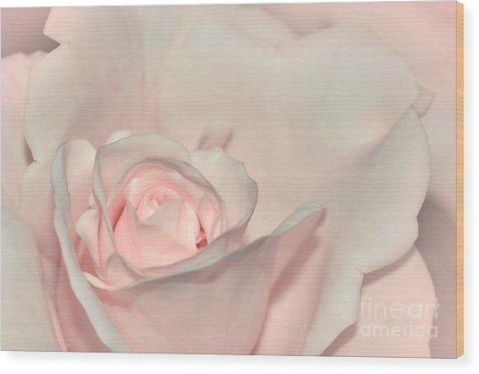 Pink Satin Wood Print