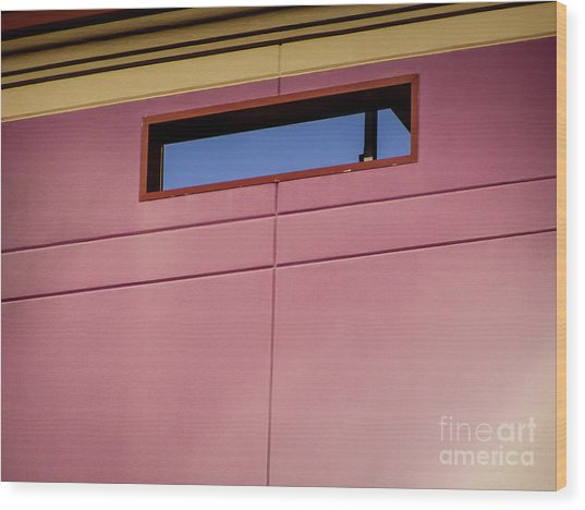 Pink Wall The Floyd Wood Print