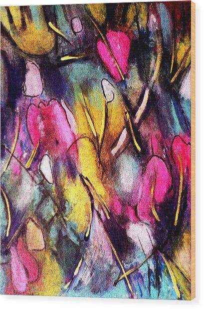 Pinktulips 2 Wood Print