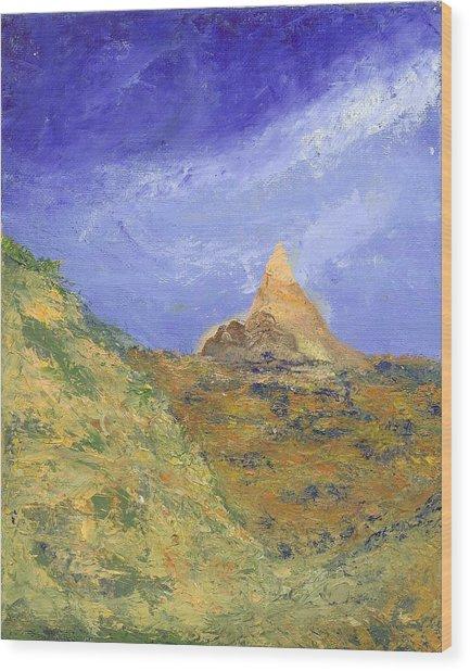 Pinnacle Peak Wood Print