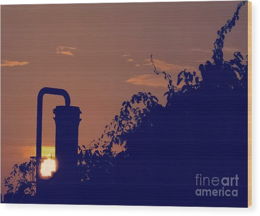 Pittsburgh Sunset  Wood Print