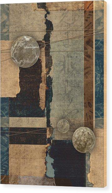 Planetary Shift #2 Wood Print
