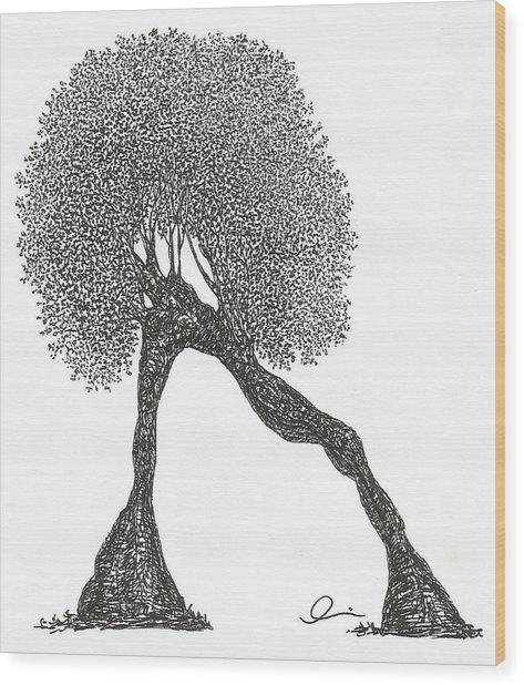 Plank Wood Print