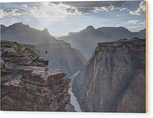 Plateau Point - Grand Canyon Wood Print