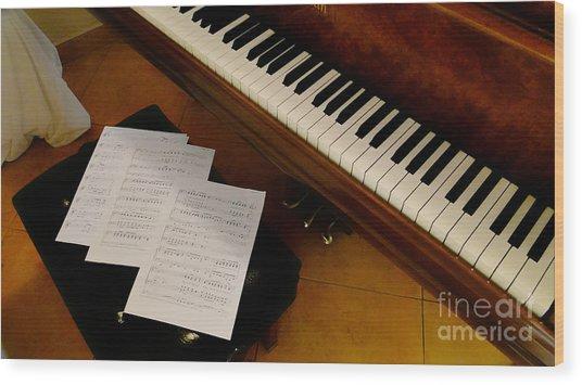 Play Us A Tune Please II Wood Print