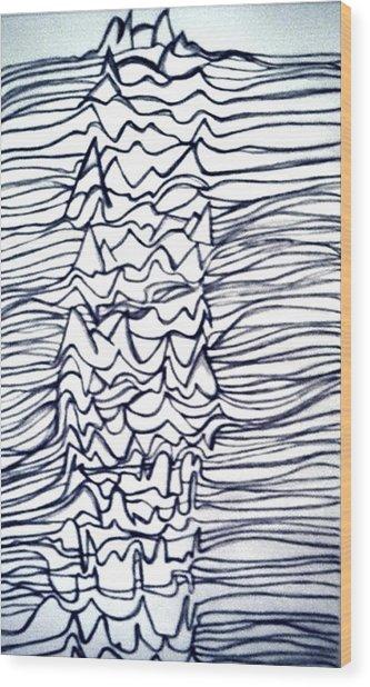 Pleasures Unknown Wood Print