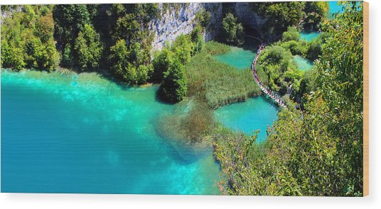 Plitvice Lakes National Park Wood Print
