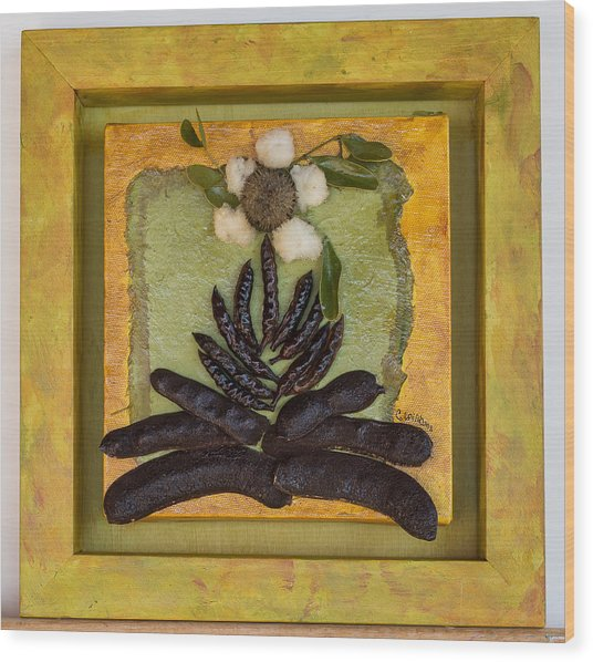 Pods No. 7 Wood Print