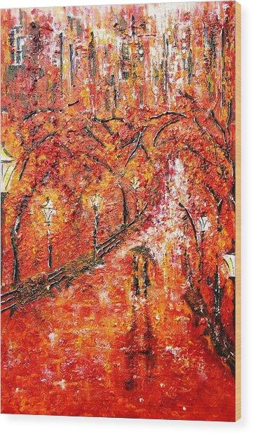 Poet's Walk  Wood Print