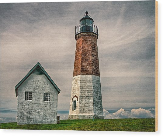 Point Judith Wood Print