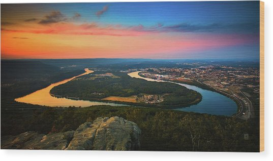 Point Park Overlook Wood Print