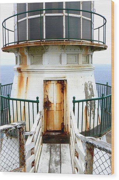 Point Reyes Historic Lighthouse Wood Print